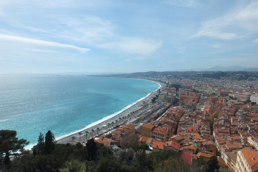 Nice coastline, Spring 2013